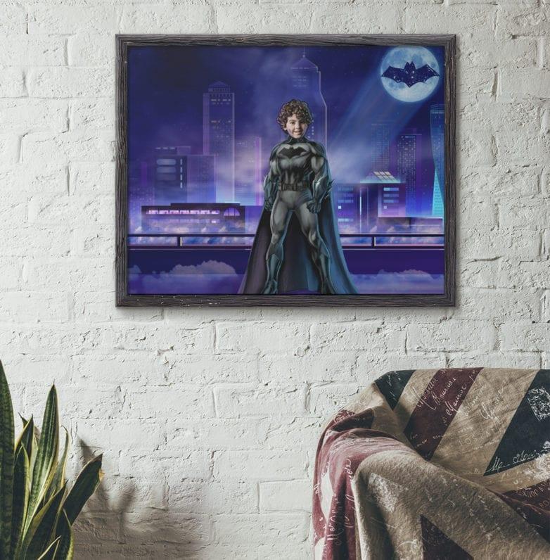 batman self portrait