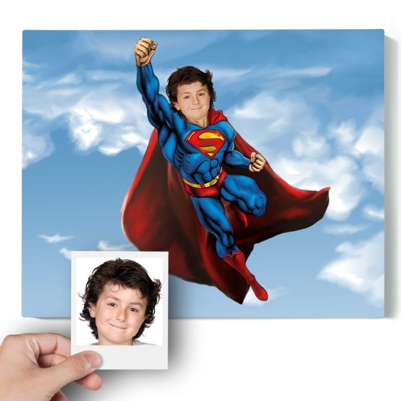 superman custom illustration