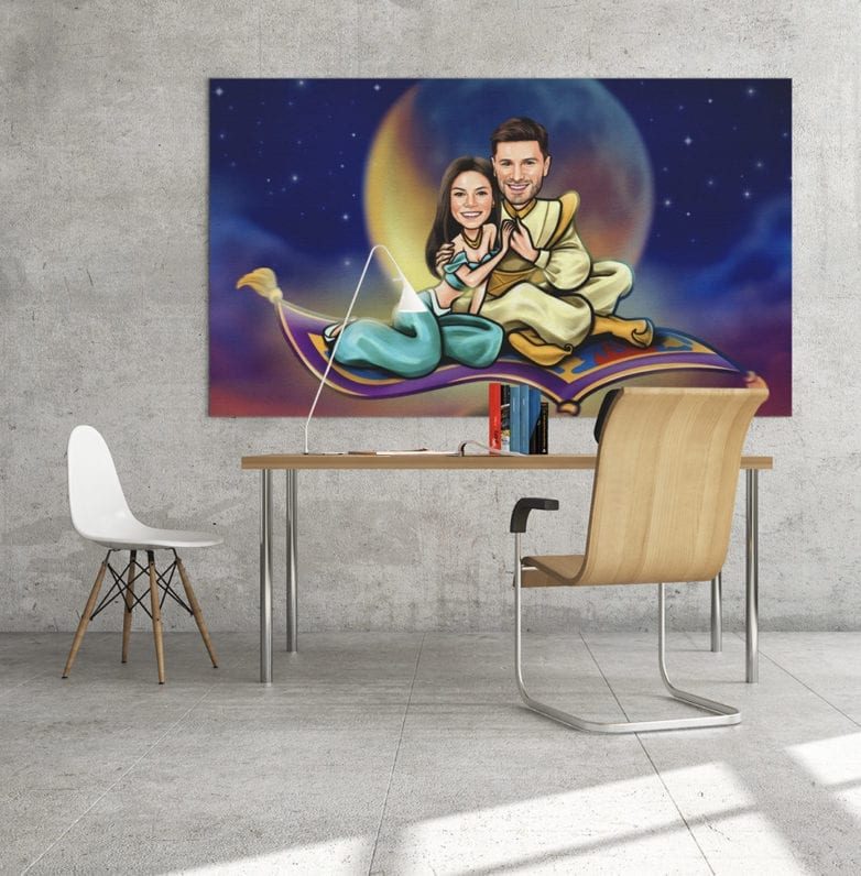 personalized canvas art
